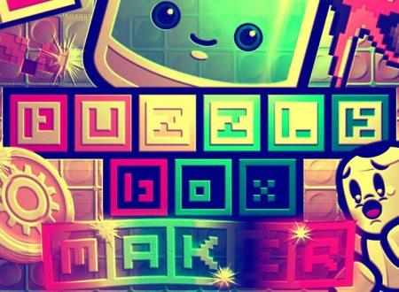 Puzzle Box Maker: mostrato un primo video gameplay del titolo su Nintendo Switch