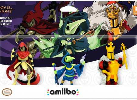 Shovel Knight Treasure Trove: annunciato un Triple Pack con gli amiibo di Specter Knight, King Knight e Plague Night