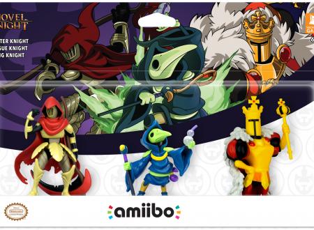 Shovel Knight Treasure Trove: annunciato un Triple Pack con gli amiibo di Specter Knight, King Knight e Plague Night