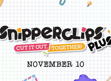 Snipperclips Plus: Diamoci un taglio! in arrivo in versione fisica il 10 novembre su Nintendo Switch