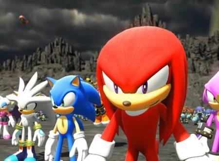 Sonic Forces: pubblicato il trailer inglese dedicato alla storia del titolo