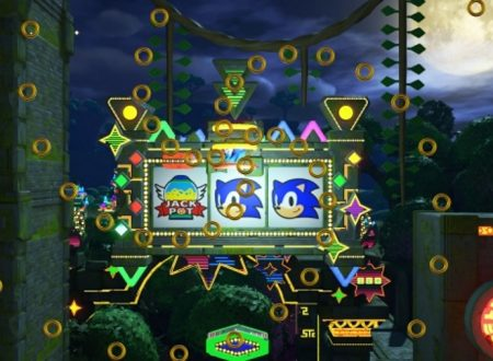 Sonic Forces: pubblicato un video gameplay sullo stage Casino Forest