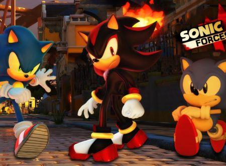 Sonic Forces: rivelato il filesize del titolo di SEGA su Nintendo Switch