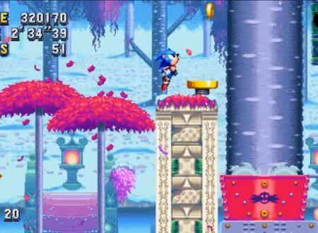 Sonic Mania: una patch del gioco è in arrivo presto sui Nintendo Switch europei
