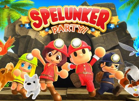 Spelunker Party: uno sguardo in video alla demo europea su Nintendo Switch