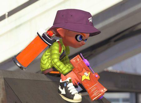 Splatoon 2: lo Sparacolore logo sarà disponibile domani nel titolo per Nintendo Switch