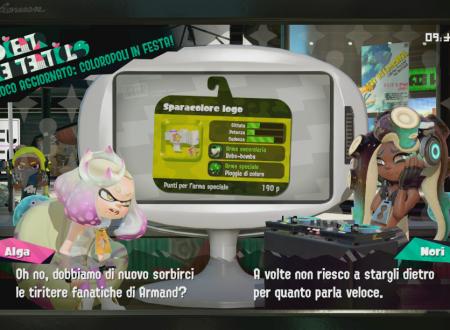 Splatoon 2: uno sguardo in video allo Sparacolore logo, ora disponibile nel gioco
