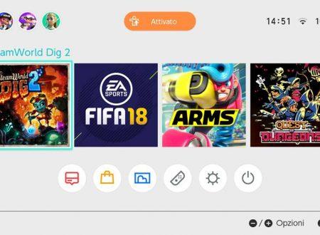 Steamworld Dig 2: la versione 3.1.1, ha aggiornato l'icona del titolo su Nintendo Switch