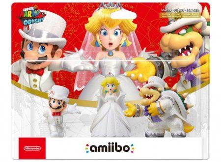 Super Mario Odyssey: pubblicato un video unboxing comparativo per gli amiibo del titolo