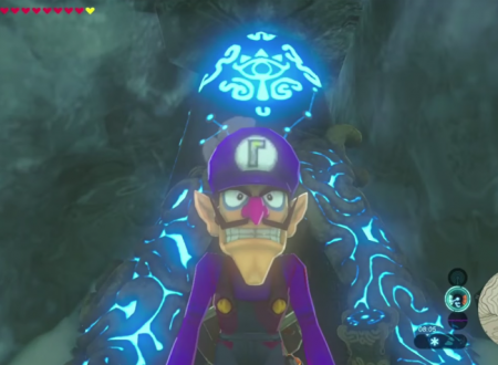 The Legend of Zelda: Breath of the Wild, la leggenda di Waluigi arriva tramite una mod