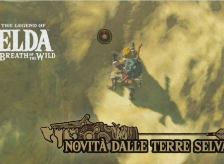 The Legend of Zelda: Breath of the Wild: un granchio podista e due vigorini dal Canale Notizie di Nintendo Switch