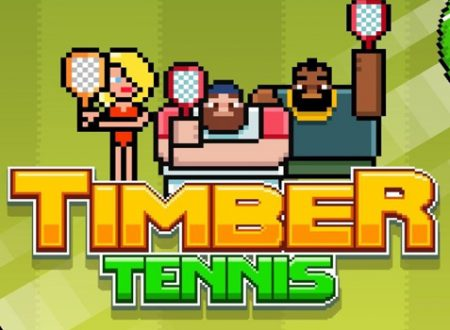 Timber Tennis: il titolo annunciato per l'arrivo su Nintendo Switch