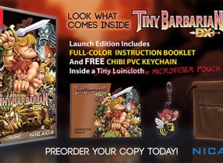 Tiny Barbarian DX: il titolo sarà pubblicato il 10 ottobre sui Nintendo Switch americani
