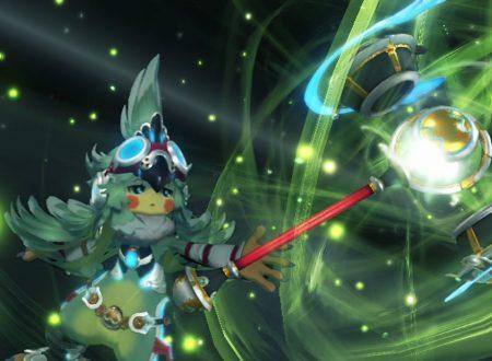 Xenoblade Chronicles 2: mostrato Finch, uno dei personaggi realizzati da Kunihiko Tanaka