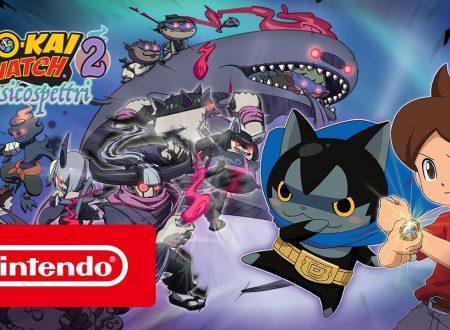YO-KAI WATCH 2: Psicospettri, pubblicato il trailer di lancio del titolo per 3DS