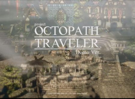 project OCTOPATH TRAVELER: demo disponibile, titolo in arrivo nel 2018 su Nintendo Switch
