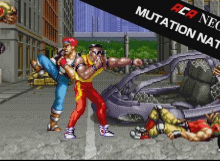 ACA NEOGEO MUTATION NATION: il titolo in arrivo il 26 ottobre sui Nintendo Switch europei
