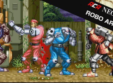 ACA NEOGEO Robo Army: il titolo in arrivo il 19 ottobre sui Nintendo Switch europei