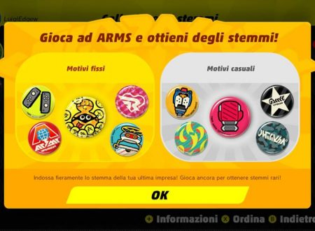 ARMS: ora disponibile la versione 3.2.0 del titolo per Nintendo Switch
