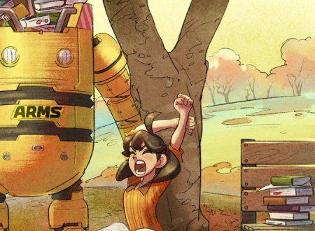 ARMS: pubblicato un nuovo artwork ufficiale autunnale dedicato a Mechanica