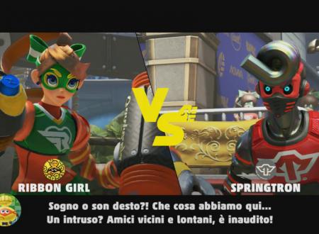 ARMS: uno sguardo in video a Springtron, il misterioso lottatore del Grand Prix