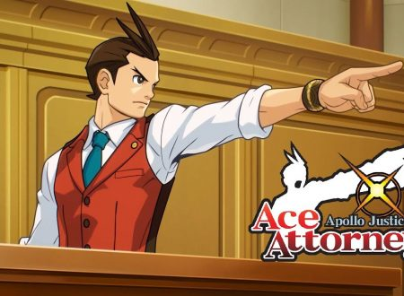 Apollo Justice: Ace Attorney, il titolo in arrivo il 23 novembre su Nintendo 3DS