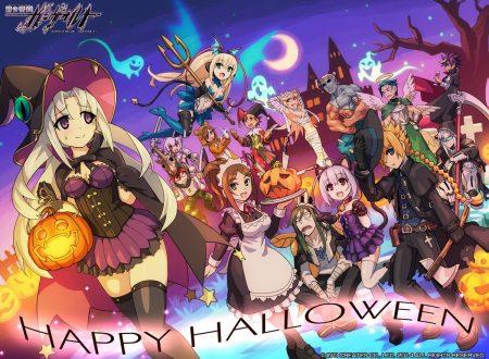 Azure Striker GUNVOLT: pubblicati dei nuovi wallpaper della serie per Halloween
