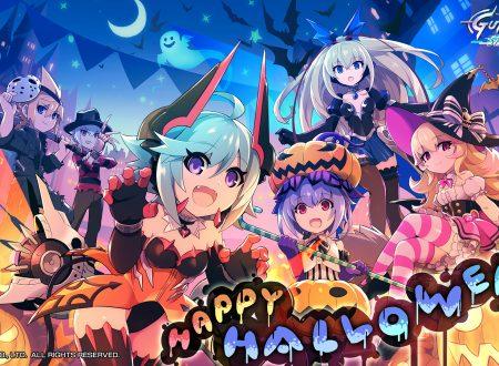 Azure Striker GUNVOLT: pubblicato un nuovo wallpaper dedicato ad Halloween