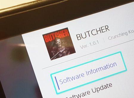 BUTCHER: il titolo aggiornato alla versione 1.0.1 sui Nintendo Switch europei