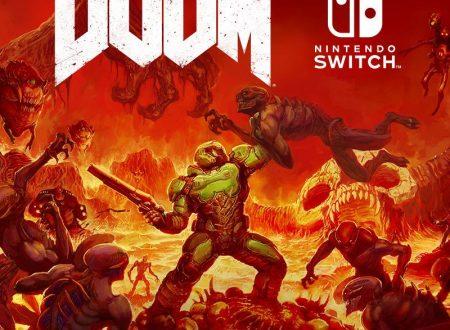DOOM: il titolo ufficialmente in arrivo il 10 novembre sui Nintendo Switch europei