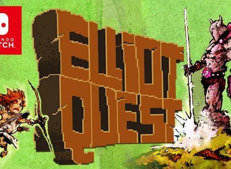 Elliot Quest: pubblicato il trailer di lancio della versione per Nintendo Switch