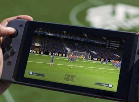 FIFA 18: il titolo ora aggiornato alla versione 1.0.2 su Nintendo Switch