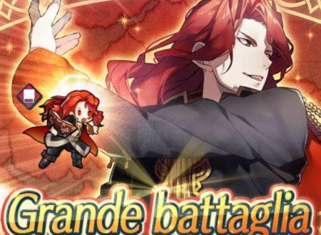 Fire Emblem Heroes: la Grande Battaglia di Arvis è ora disponibile nel titolo