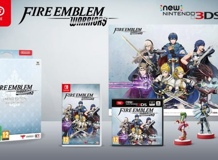 Fire Emblem Warriors: la Limited Edition e gli amiibo in preorder sul Nintendo UK Store