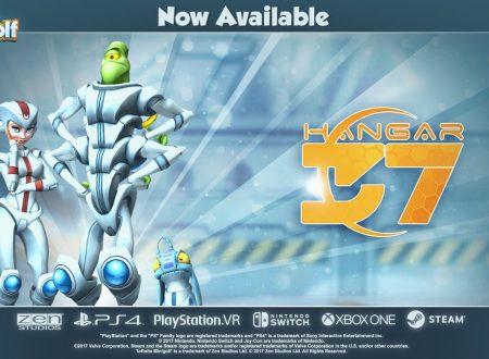 Infinite Minigolf: i DLC di Hangar 37 sono ora disponibili su Nintendo Switch