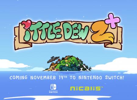 Ittle Dew 2: il titolo in arrivo il 14 novembre sui Nintendo Switch americani, anche retail