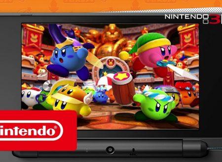 Kirby: Battle Royale, pubblicato il trailer introduttivo del titolo per Nintendo 3DS