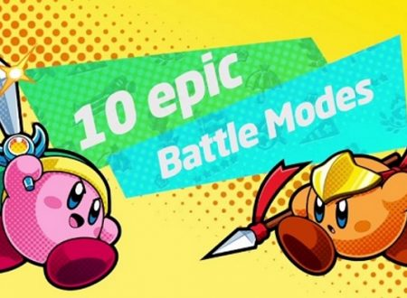 Kirby: Battle Royale, pubblicato un video gameplay sulla demo europea del titolo