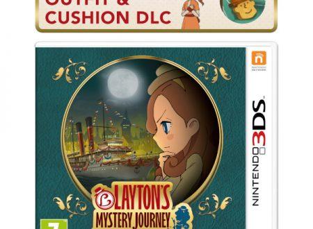 LAYTON'S MYSTERY JOURNEY: Katrielle e il complotto dei milionari, bonus DLC per il preorder sul Nintendo UK Store