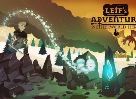 Leif's Adventure: Netherworld Hero, il titolo annunciato per l'arrivo su Nintendo Switch