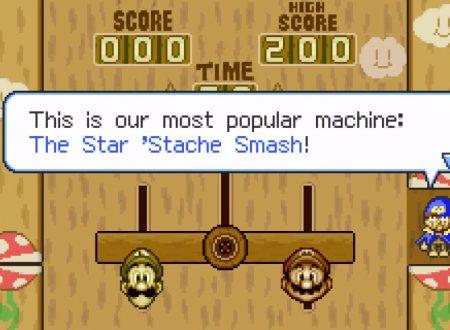 Mario & Luigi: Superstar Saga + Scagnozzi di Bowser, il cameo di Geno del minigame Fratelli Altalena, rimosso dal gioco