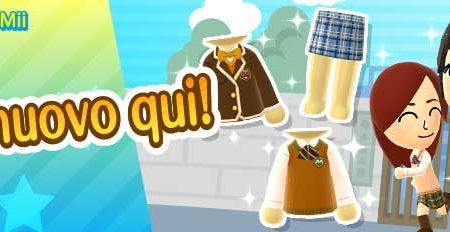 Miitomo: i nuovi indumenti del 8 ottobre, di ritorno nel minigioco Sgancia Mii