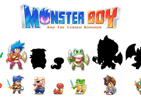 Monster Boy and the Cursed Kingdom, svelato il nuovo sprite e le animazioni di Frog