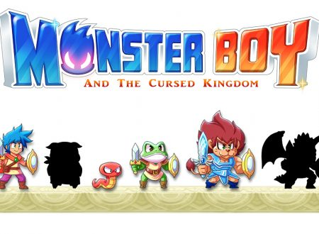 Monster Boy and the Cursed Kingdom, svelato il nuovo sprite e le animazioni di Snake