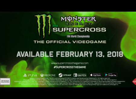 Monster Energy Supercross – The Official Videogame in arrivo su Nintendo Switch