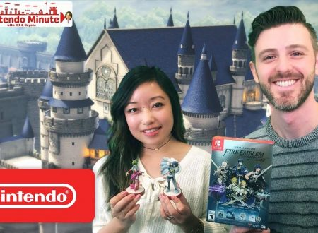 Nintendo Minute: unboxing della Limited Edition e amiibo di Fire Emblem Warriors con Kit e Krysta