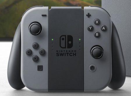 Nintendo Switch: nuovo aggiornamento separato per i Joy-con controller