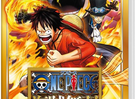 One Piece: Pirate Warriors 3 Deluxe Edition, mostrata la boxart giapponese per Nintendo Switch