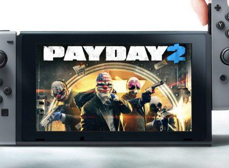PAYDAY 2: il titolo riconfermato per il lancio in inverno su Nintendo Switch