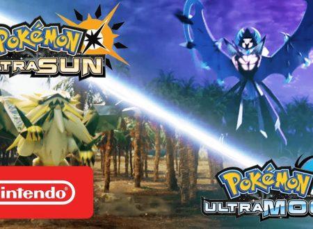Pokémon Ultrasole e Ultraluna: pubblicato il primo commecial americano sui due titoli